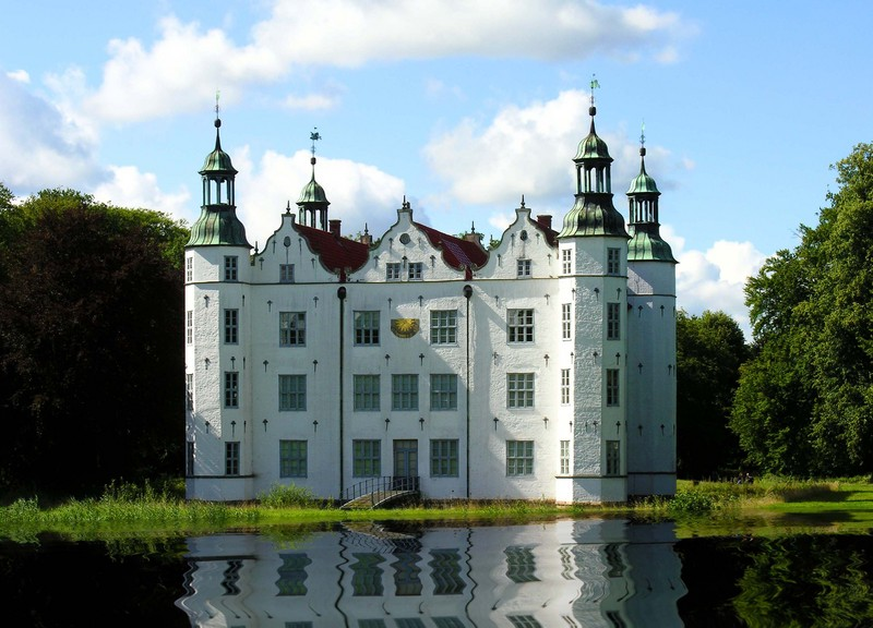The famous castle of Ahrensburg