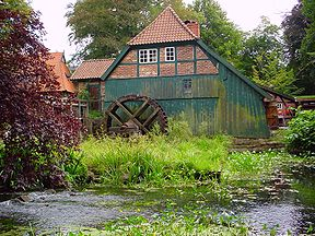 Water mill of Grande